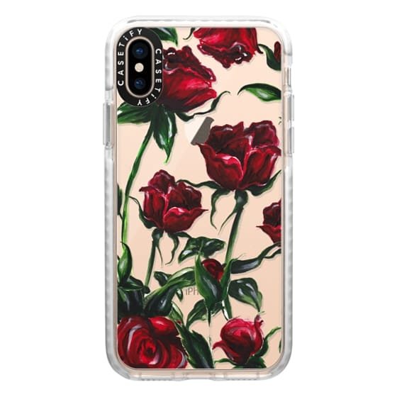 iPhone XS Cases - Roses