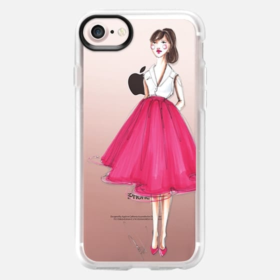 Cherry Pink skirt - Fashion girl - Classic Grip Case
