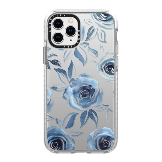 iPhone 11 Pro Cases - Blue roses