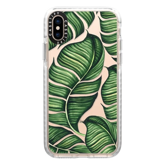 iPhone XS Cases - Banana leaves