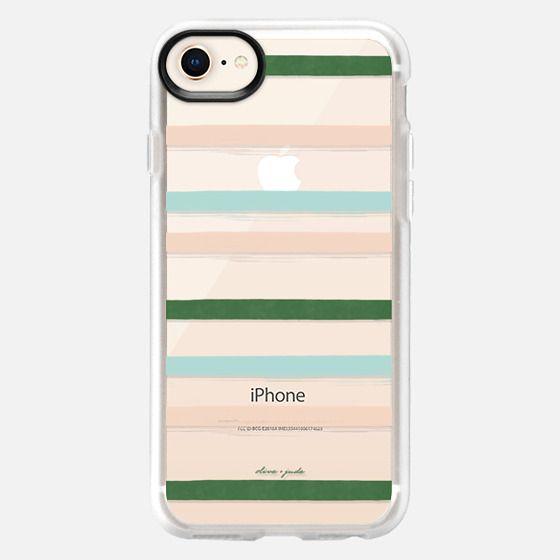 Preppy Stripes - Snap Case