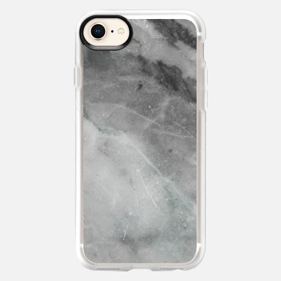 Elegant grey marble - Snap Case