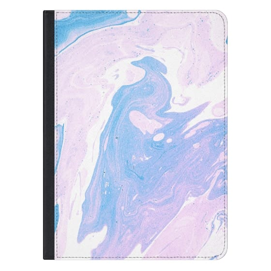 12.9-inch iPad Pro Covers - Purple marble texture