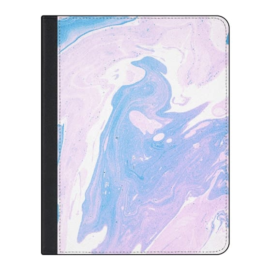11-inch iPad Pro Covers - Purple marble texture