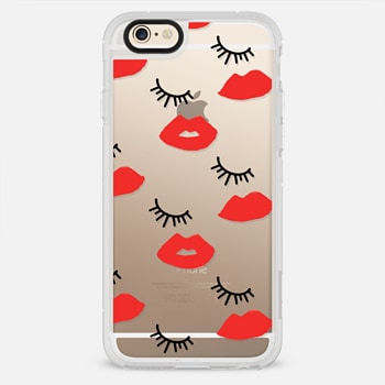 iPhone 6 Case Eyes Lips Love