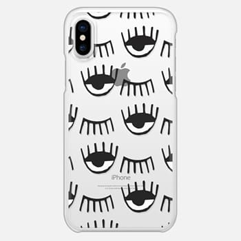 iPhone X Case Evil Eyes N Lashes