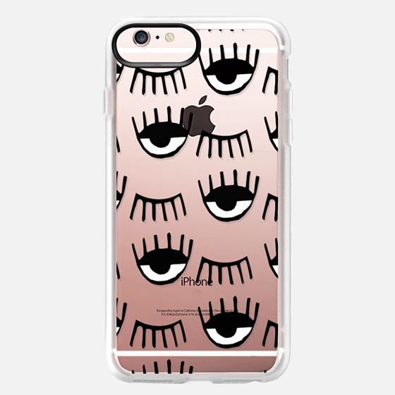 iPhone 6s Plus Case - Evil Eyes N Lashes