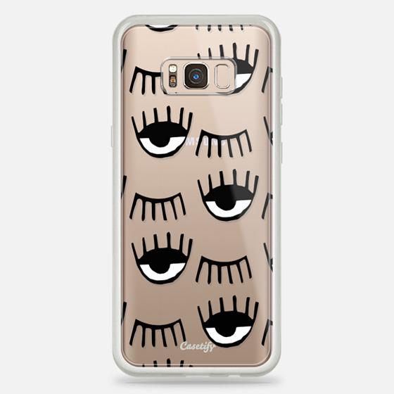 Galaxy S8+ Case - Evil Eyes N Lashes