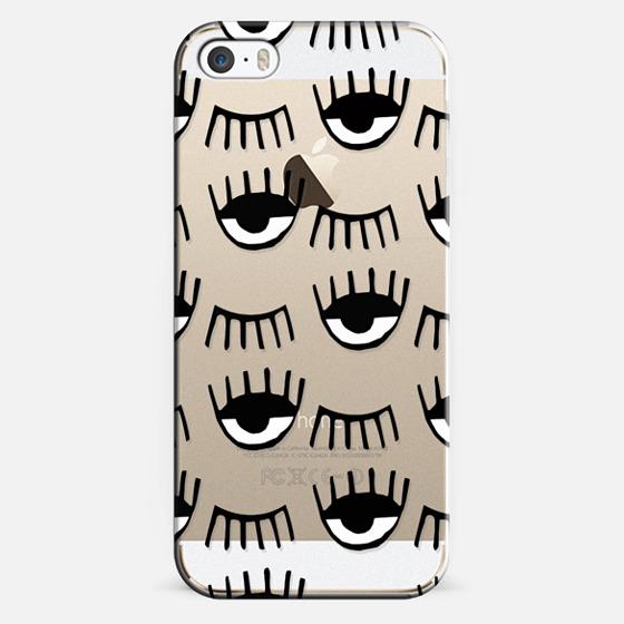 iPhone 5s Case - Evil Eyes N Lashes