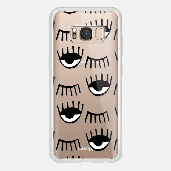 Galaxy S8 Case - Evil Eyes N Lashes