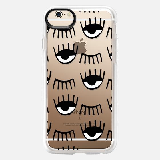 iPhone 6 Case - Evil Eyes N Lashes