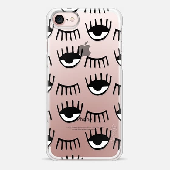 iPhone 7 Case - Evil Eyes N Lashes