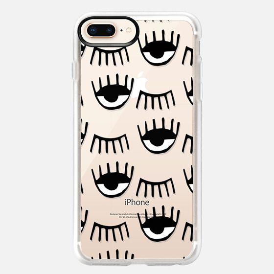 iPhone 8 Plus Case - Evil Eyes N Lashes