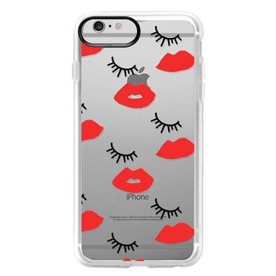 iPhone 6 Plus Cases - Eyes Lips Love