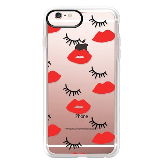 iPhone 6s Plus Cases - Eyes Lips Love