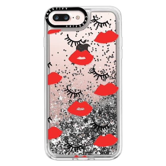 iPhone 7 Plus Cases - Eyes Lips Love
