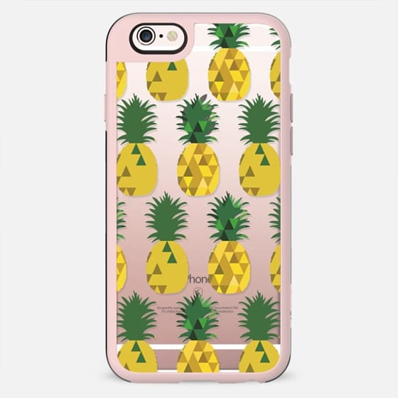 Transparent Pineapple Fruit Party - New Standard Case