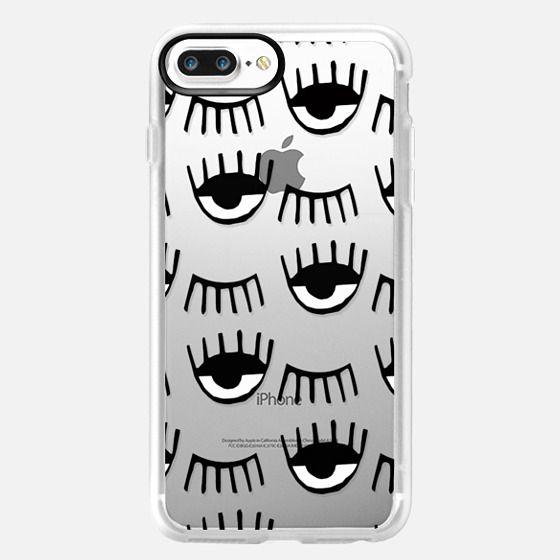 iPhone 7 Plus Hülle - Evil Eyes N Lashes