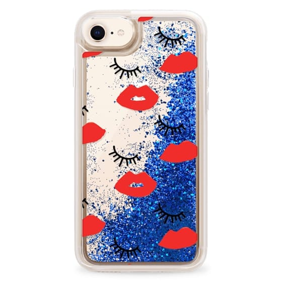 iPhone 8 Cases - Eyes Lips Love