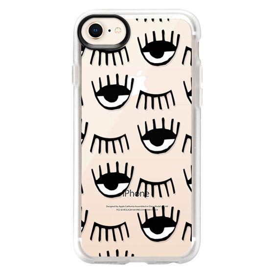 iPhone 8 Case - Evil Eyes N Lashes