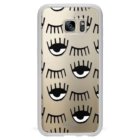 Galaxy S7 Edge Case - Evil Eyes N Lashes