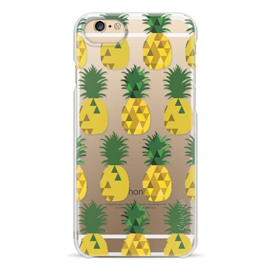 iPhone 6 Cases - Transparent Pineapple Fruit Party