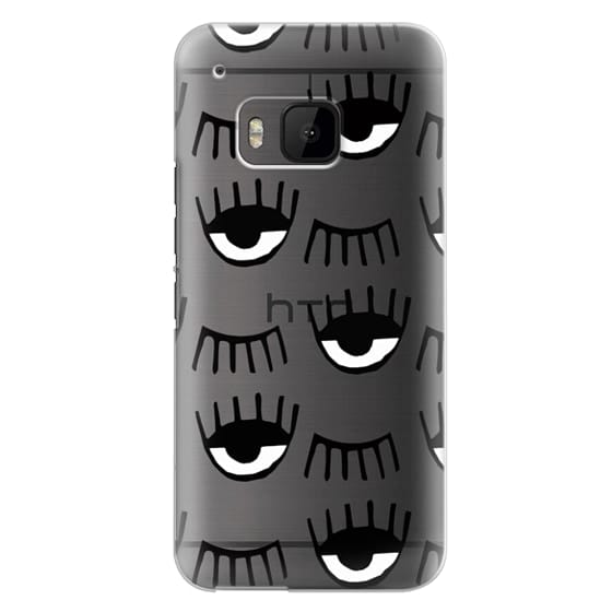 Htc One M9 Cases - Evil Eyes N Lashes