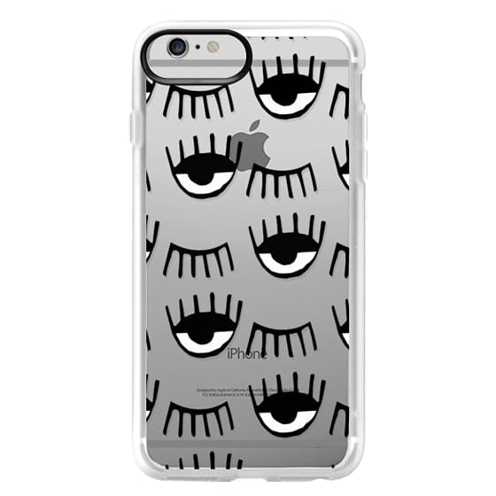 iPhone 6 Plus Cases - Evil Eyes N Lashes