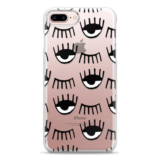 iPhone 7 Plus Cases - Evil Eyes N Lashes