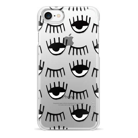 iPhone 7 Cases - Evil Eyes N Lashes