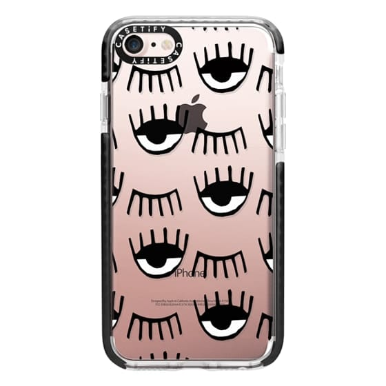 iPhone 7 Cases - Evil Eyes N Lashes