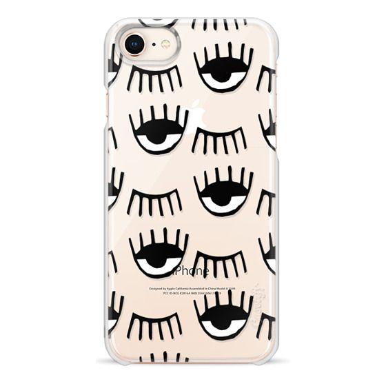 iPhone 8 Cases - Evil Eyes N Lashes