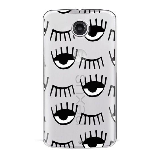 Nexus 6 Cases - Evil Eyes N Lashes