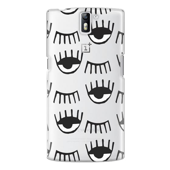 One Plus One Cases - Evil Eyes N Lashes
