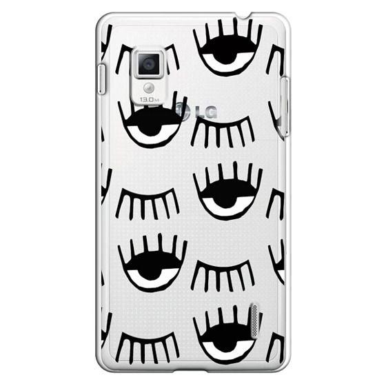 Optimus G Cases - Evil Eyes N Lashes