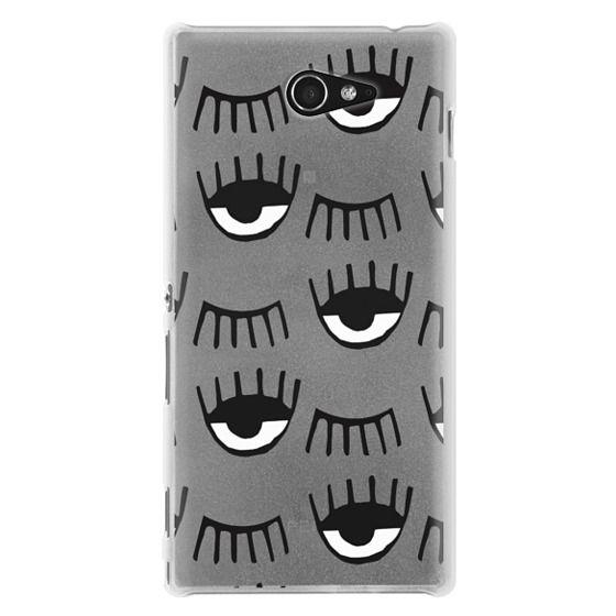 Sony M2 Cases - Evil Eyes N Lashes