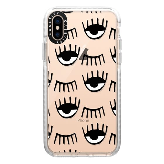 iPhone XS Cases - Evil Eyes N Lashes