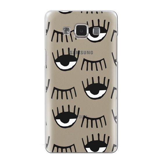 Samsung Galaxy A5 Cases - Evil Eyes N Lashes