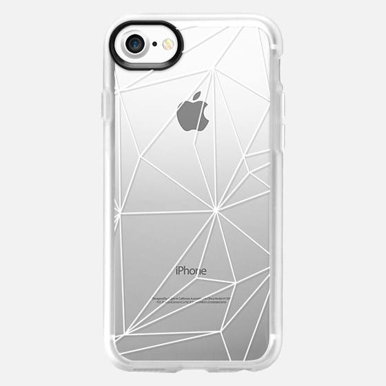 Simplicity white transparent - Classic Grip Case