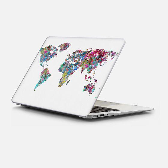 Macbook Air 13 Case - World of Leaves