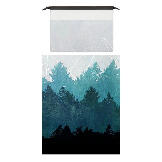 MacBook Pro 15 Sleeves - Woods Abstract