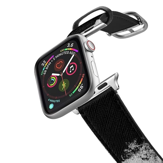 Apple Watch 38mm Bands - Paint It Black