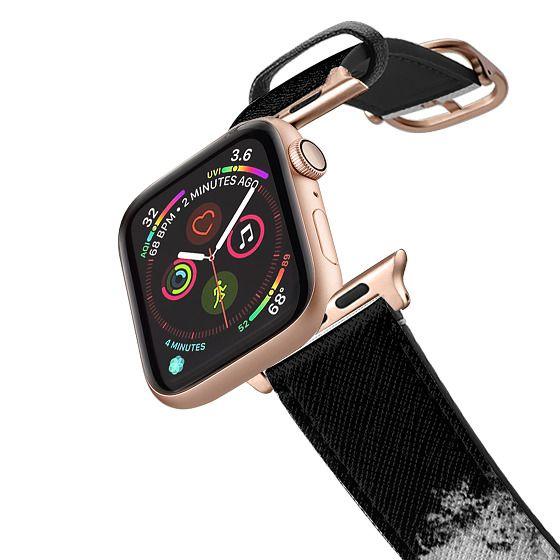 Apple Watch 38mm Bands - Paint It Black