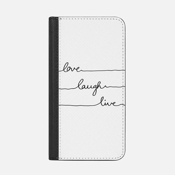 Love Laugh Live transparent