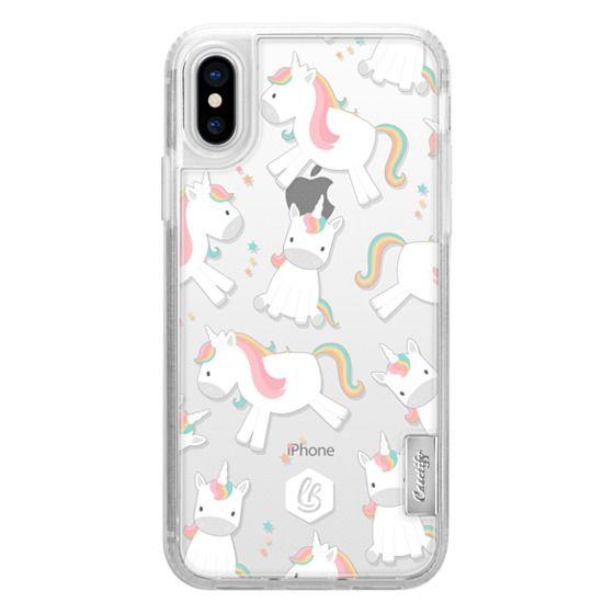 iPhone X Cases - UNICORNS
