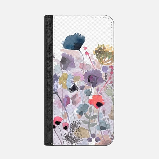 Fields of Fall - Wallet Case with RFID