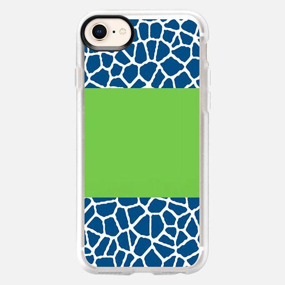staklo (dark blue w/ green stripe) - Snap Case