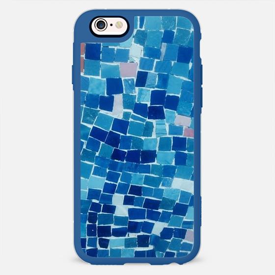 blue mosaic -