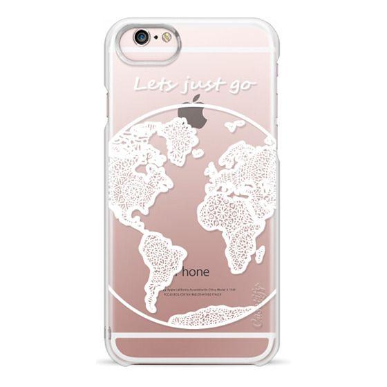 iPhone 6s Cases - White Globe Mandala