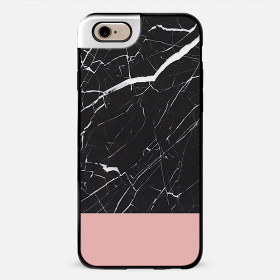 marble and pink -